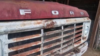 Uncle Harvey's Work Truck