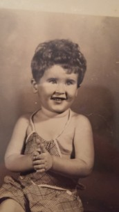 Jerry as a baby