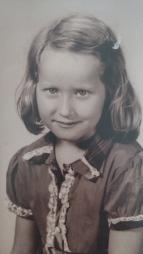 Mama as a girl